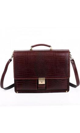 Элегантный мужской портфель Manufatto 725 коричневый