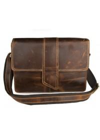 Мега стильная мужская сумка из превосходной кожи лошади 77263