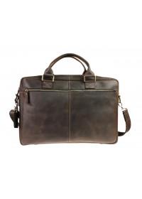 Мужская кожаная вместительная сумка для ноутбука 726507-SKE