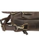 Фотография Мужская кожаная вместительная сумка для ноутбука 726507-SKE