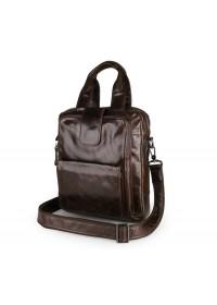 Повседневная и очень удобная кожаная мужская сумка 77266C