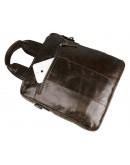 Фотография Повседневная и очень удобная кожаная мужская сумка 77266C