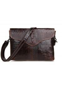 Удобная и лаконичная кожаная сумка на плечо 77267c