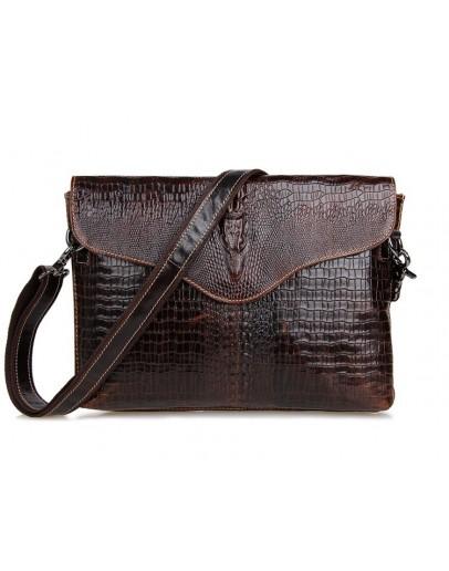 Фотография Удобная и лаконичная кожаная сумка на плечо 77267c