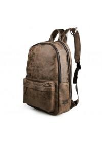 Стильный кожаный рюкзак из натуральной телячьей кожи 77273