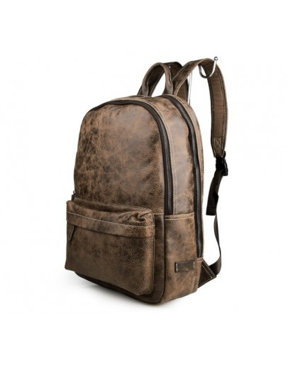 Фотография Стильный кожаный рюкзак из натуральной телячьей кожи 77273