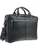 Фотография Мужская черная вместительная сумка для ноутбука 727597-SKE