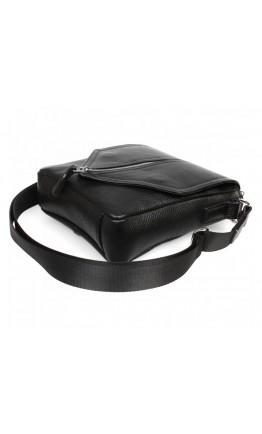 Черная мужская оригинальная сумка на плечо 7275kt