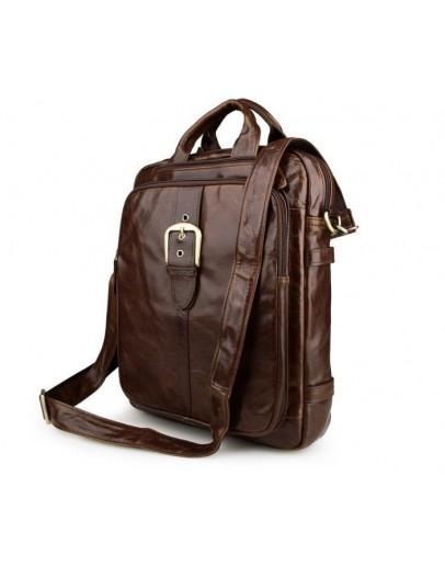 Фотография Стильный и компактный коричневый рюкзак - сумка 77279c