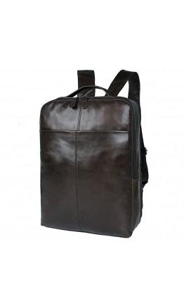 Классный мужской кожаный рюкзак на каждый день 77280J