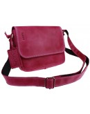 Фотография Женская кожаная небольшая сумка на плечо 72823W-SKE