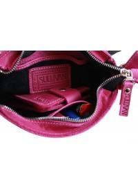 Женская кожаная небольшая сумка на плечо 72823W-SKE