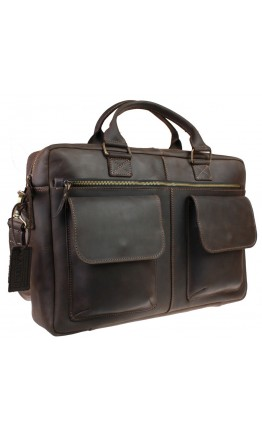 Большая коричневая вместительная сумка 728600-SKE