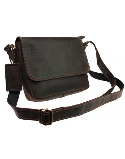 Фотография Темно-коричневая женская небольшая сумка 72923W-SKE
