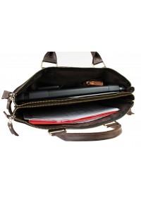 Вместительная коричневая сумка для документов и ноутбука 729607-SKE