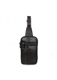 Маленький мужской серо-коричневый рюкзак 77296j