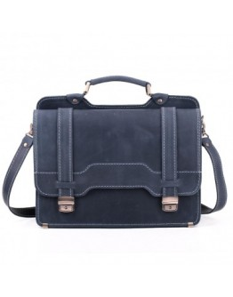 Мужской классический портфель синий Manufatto 73-sps blue