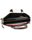 Фотография Вместительная черная сумка для документов и ноутбука 730607-SKE