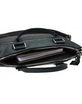Вместительная черная сумка для документов и ноутбука 730607-SKE