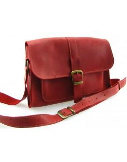 Женская красная кожаная сумка 73149-SGE