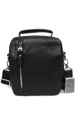 Кожаная сумка мужская на плечо - барсетка 7316kt