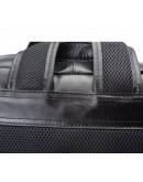 Фотография Кожаный чёрный мужской рюкзак 73173