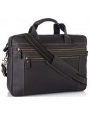 Фотография Вместительная мужская сумка из винтажной кожи Tiding Bag 7319RA