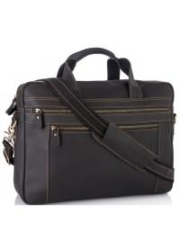Вместительная мужская сумка из винтажной кожи Tiding Bag 7319RA