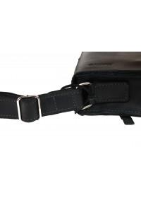 Маленькая женская кожаная сумка черного цвета 73225W-SKE