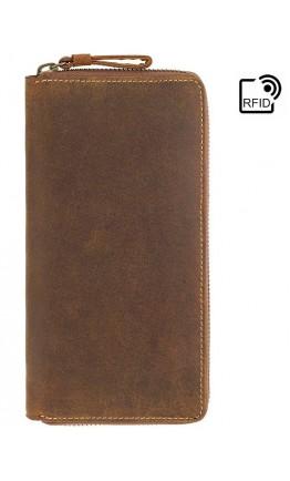 Большой мужской кошелек Visconti 733 Chain (Oil Tan)
