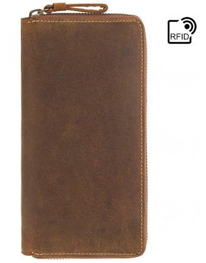 Фотография Большой мужской кошелек Visconti 733 Chain (Oil Tan)