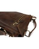 Фотография Коричневая мужская деловая кожаная сумка 734100S-SKE