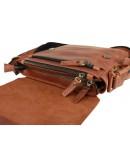 Фотография Светло-коричневая кожаная мужская сумка 734103-S1-SKE