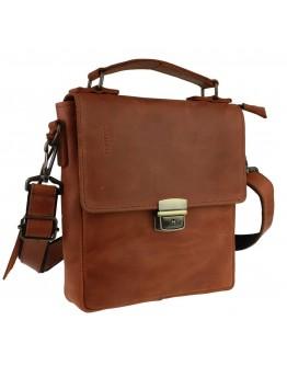 Светло-коричневая кожаная сумка на плечо 734103S-SKE
