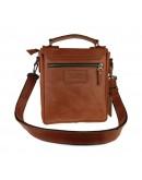 Фотография Светло-коричневая кожаная сумка на плечо 734103S-SKE
