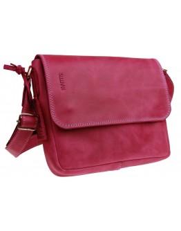 Розовая небольшая кожаная женская сумка 73425W-SKE