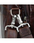 Фотография Большая мужская кожаная сумка, для командировок 7343C