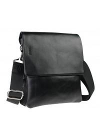 Кожаная черная мужская сумка через плечо 73444S-SKE