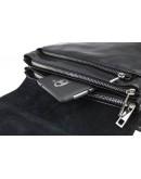 Фотография Кожаная черная мужская сумка через плечо 73444S-SKE