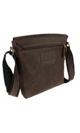 Коричневая мужская классическая сумка на плечо 73451S-SKE