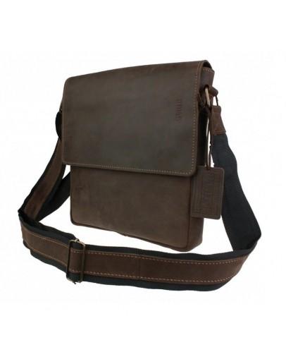 Фотография Коричневая мужская классическая сумка на плечо 73451S-SKE