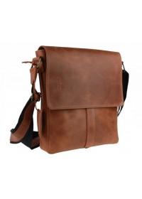 Мужская кожаная плечевая сумка 73483S-1-SKE
