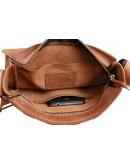 Фотография Мужская кожаная плечевая сумка 73483S-1-SKE