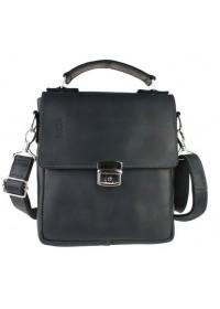 Удобная повседневная кожаная мужская сумка 73498S-SKE
