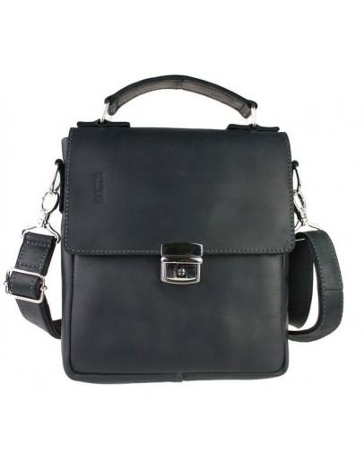 Фотография Удобная повседневная кожаная мужская сумка 73498S-SKE
