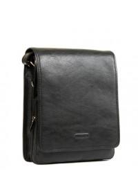 Удобная чёрная повседневная мужская сумка Katana k736104-1