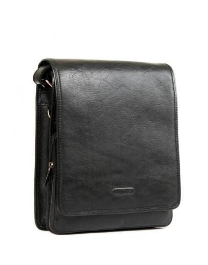 Фотография Удобная чёрная повседневная мужская сумка Katana k736104-1