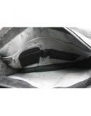 Фотография Чёрная сумка формата документов А4 из кожи Katana k736106-1