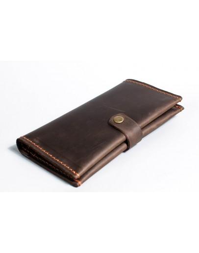 Фотография Мужское коричневое портмоне из винтажной кожи Man 73620-M