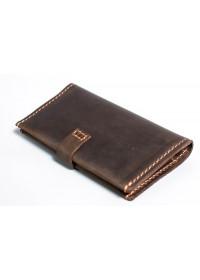 Мужское коричневое портмоне из винтажной кожи Man 73620-M